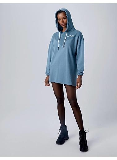 Huxel Elbise Mavi
